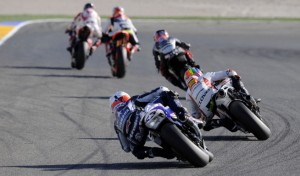 visão das corridas que Rossi não quer mais...